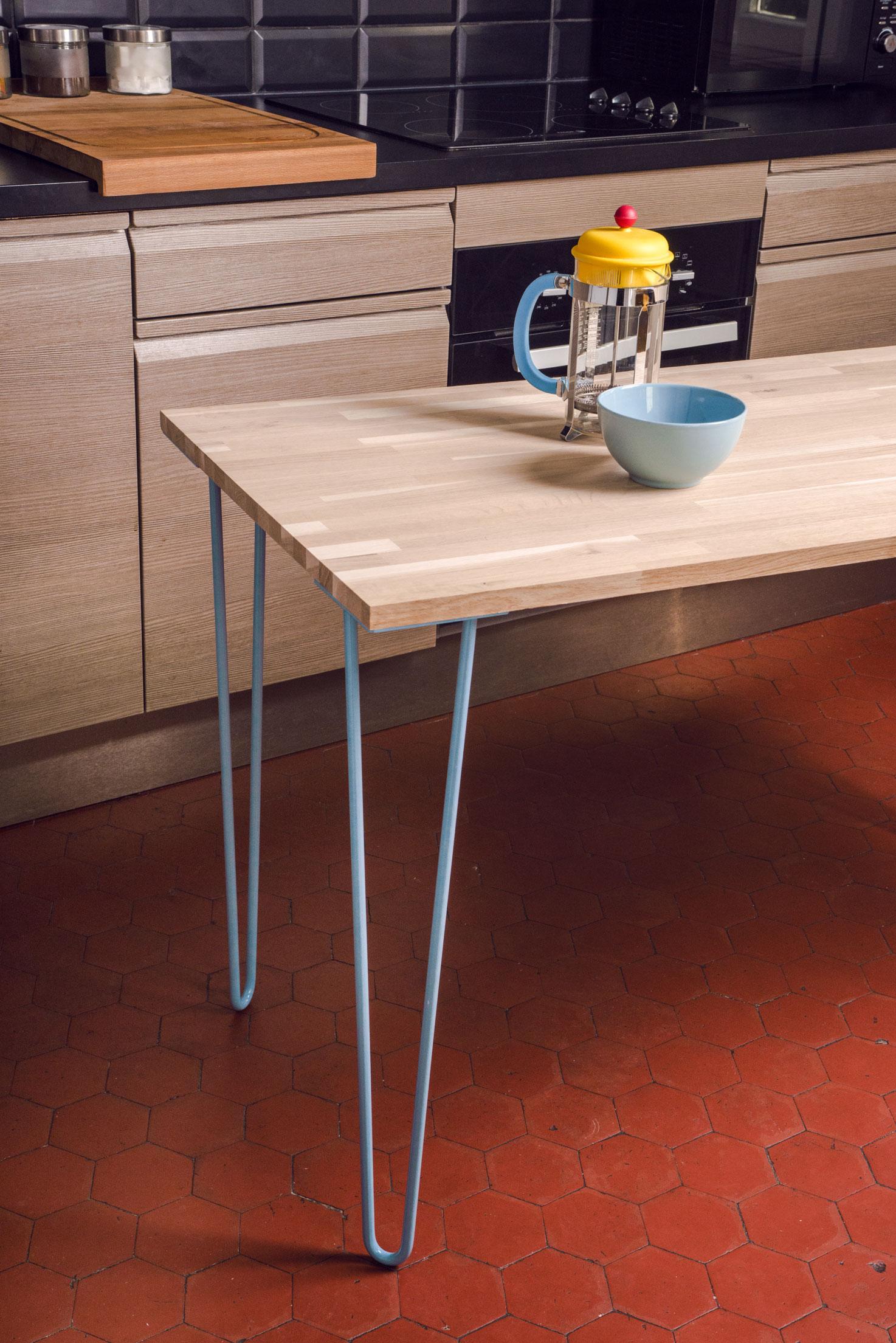 Ripaton Pieds De Table atelier ripaton : le pied de table en acier made in france